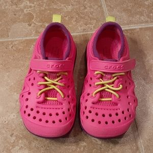 Like New Crocs Toddler's Swiftwater Play Shoes
